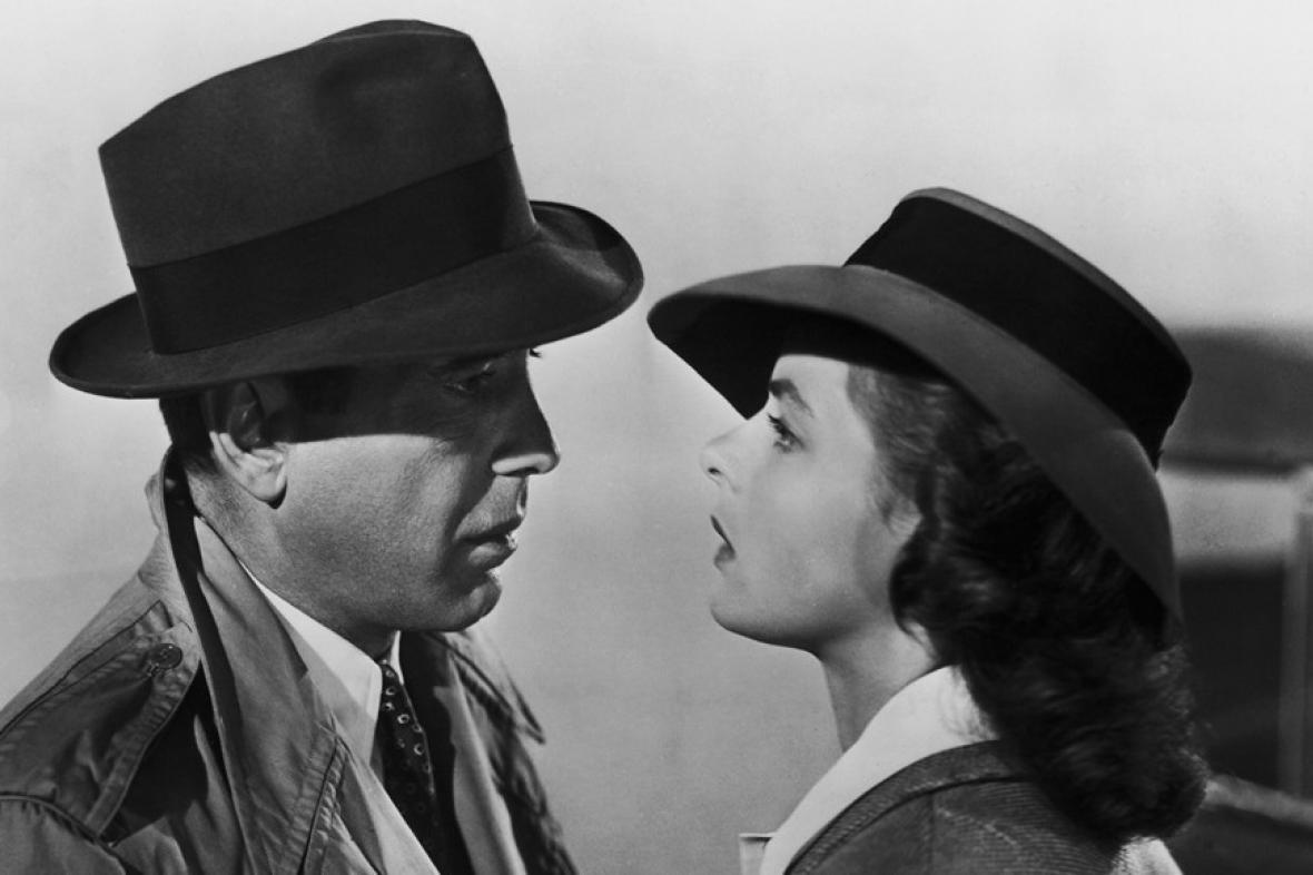 Casablanca / Humphrey Bogart a Ingrid Bergmanová