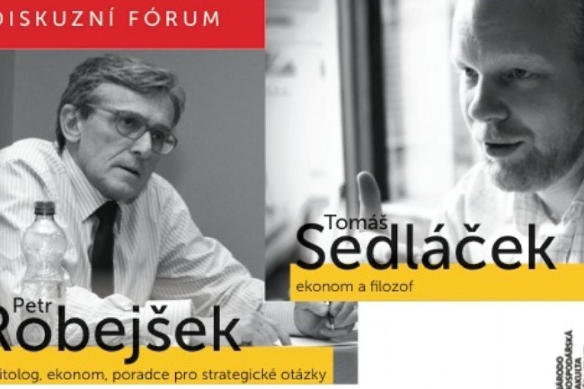 Petr Robejšek a Tomáš Sedláček