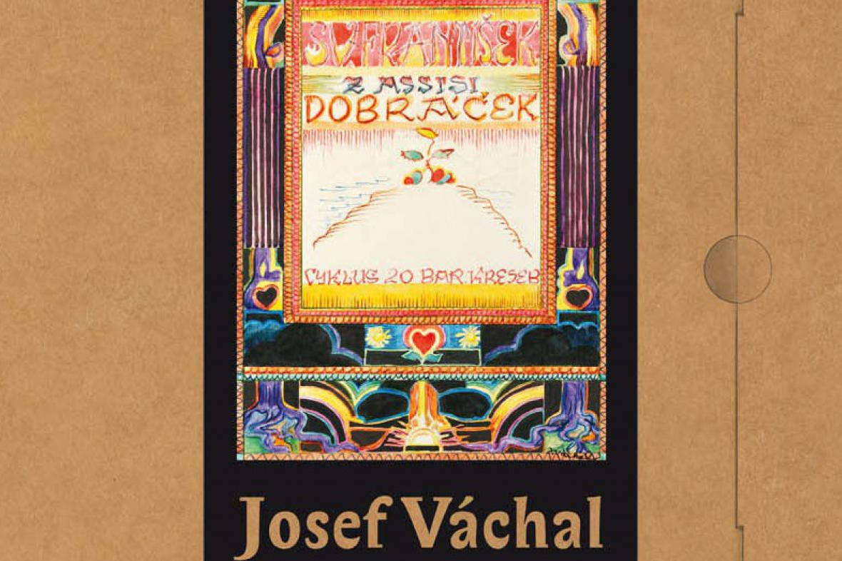 František z Assisi Dobráček - knižní soubor akvarelů Josefa Váchala