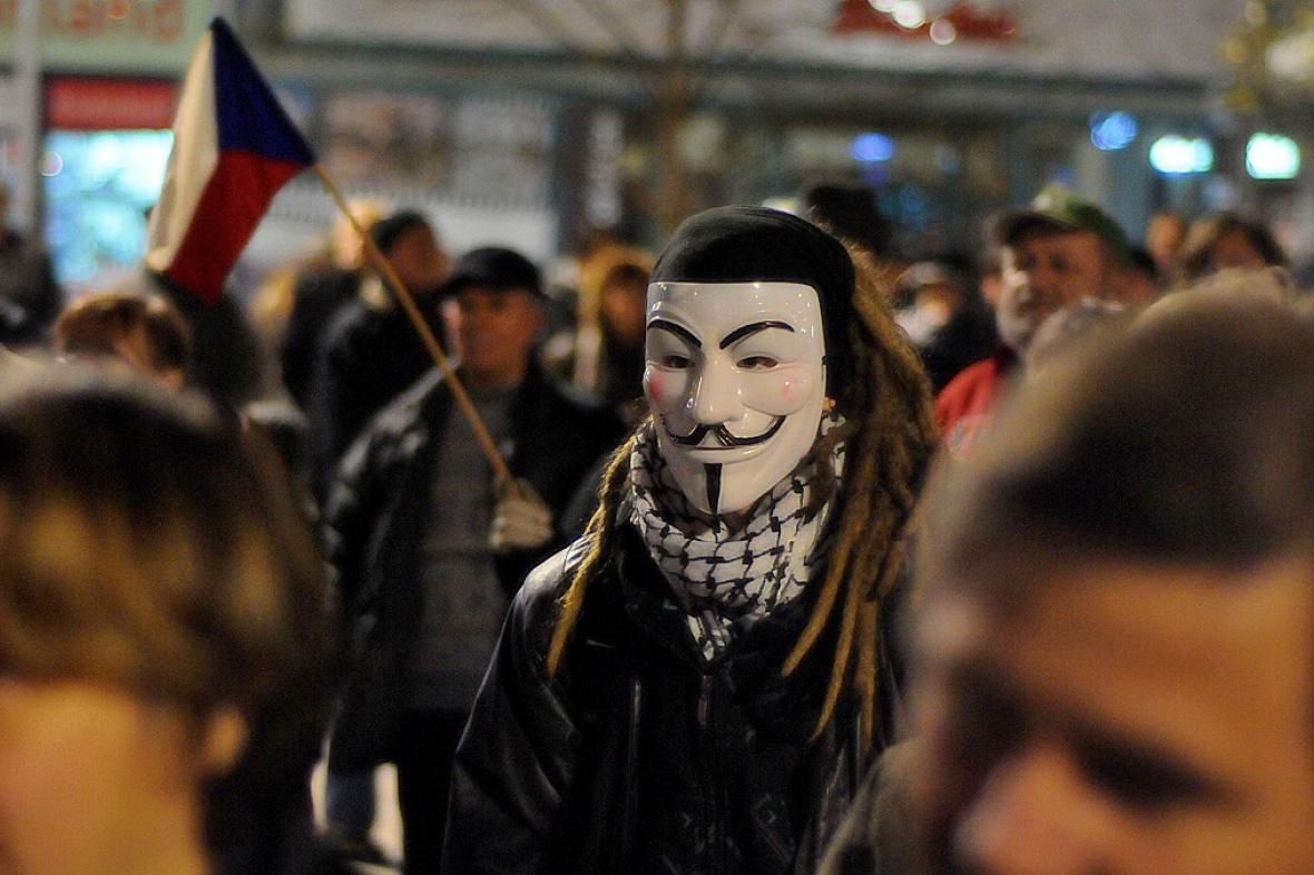 Demonstrace Ostrava