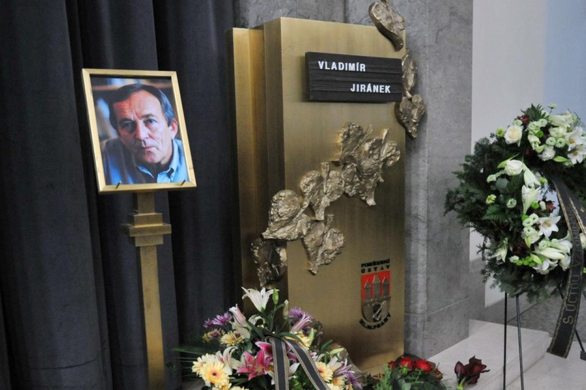 Poslední rozloučení s Vladimírem Jiránkem