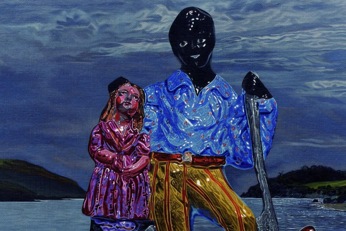 Mathew Weir / The Lake, 2008 (výřez)