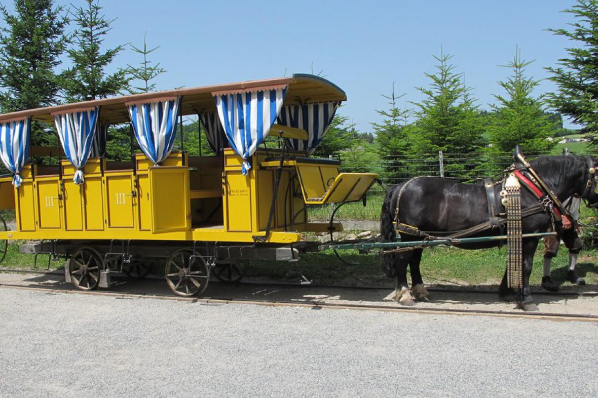 Koněspřežná železnice