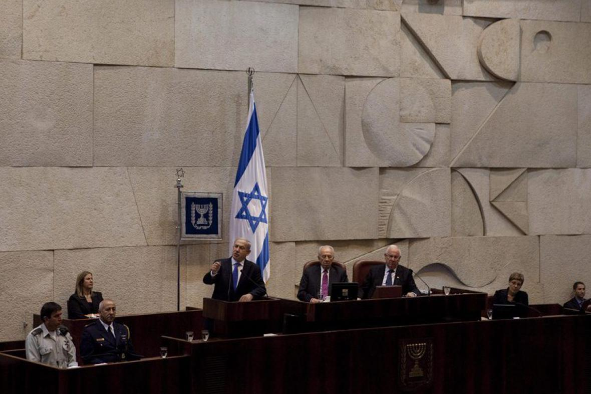 Izraelský parlament (Knesset)