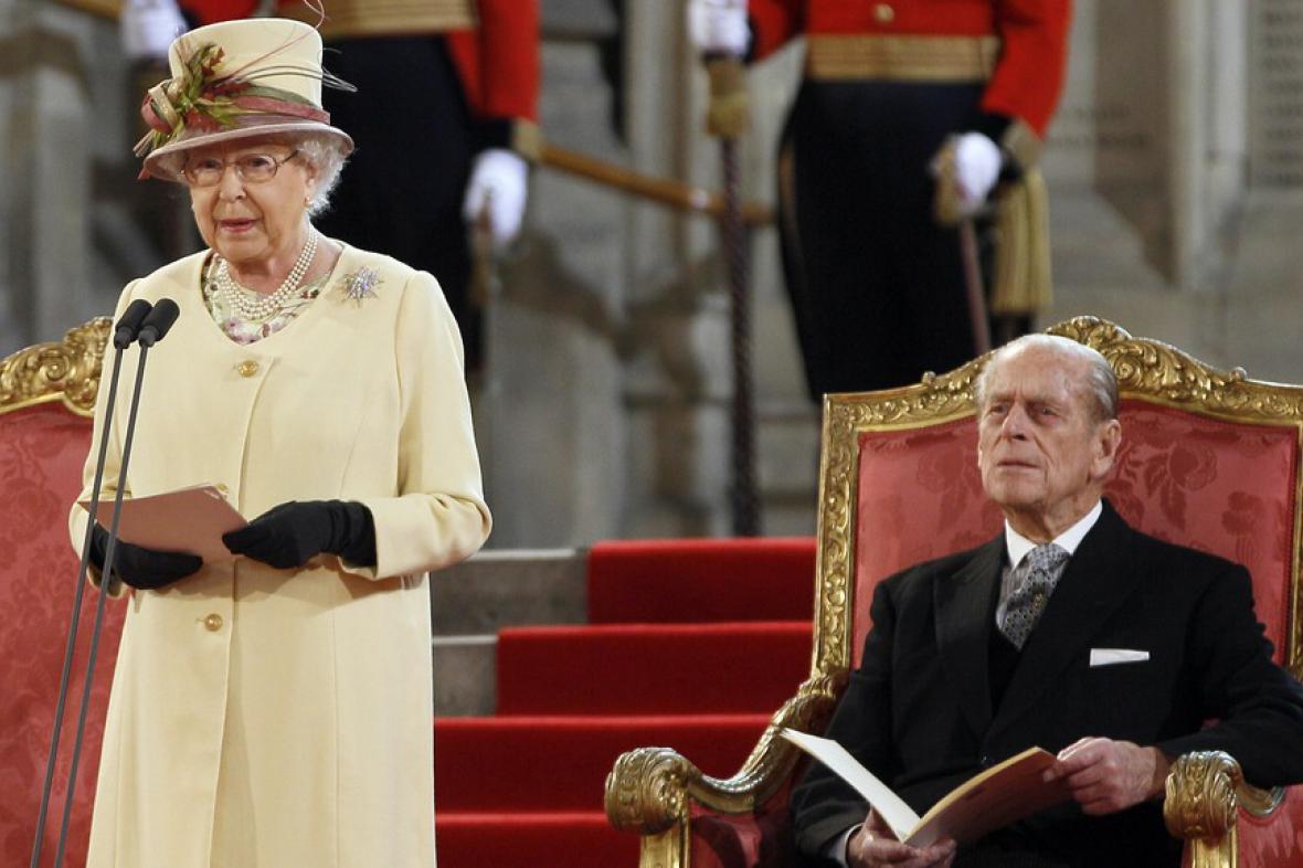 Alžběta II. a vévoda z Edinburghu
