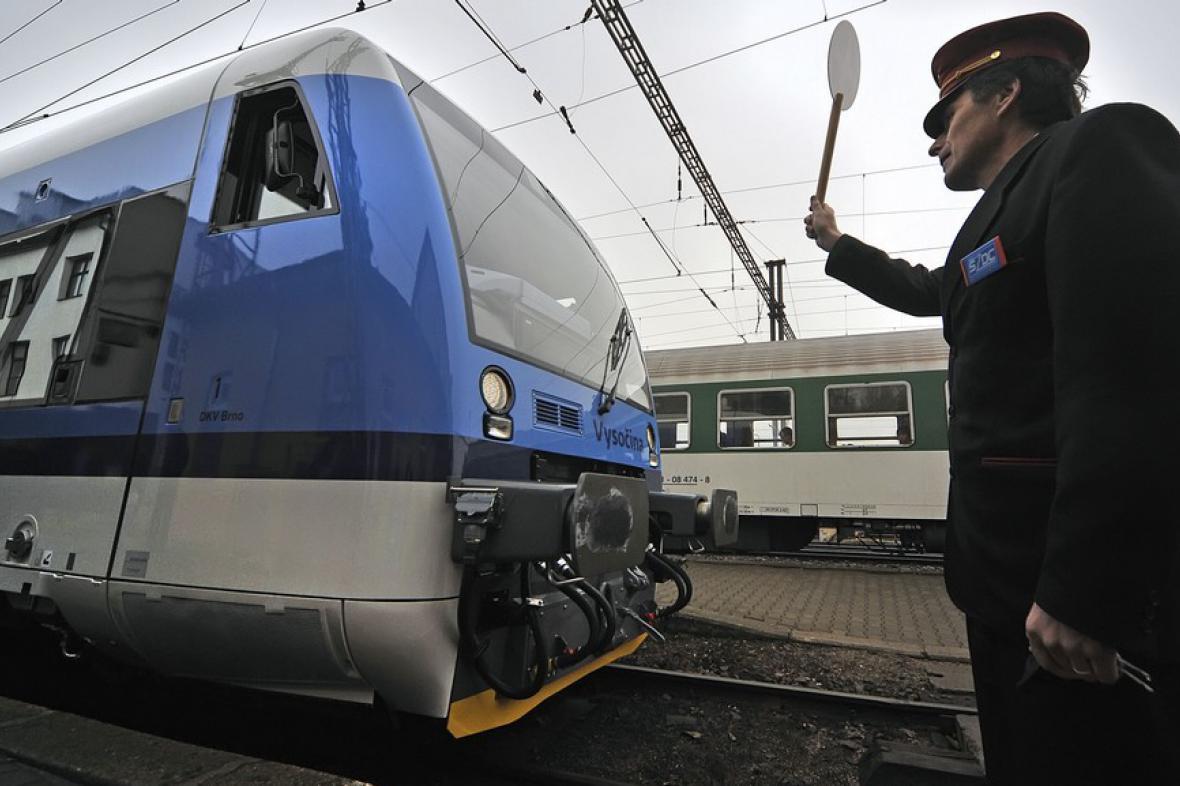 Nový vlak může vyjet