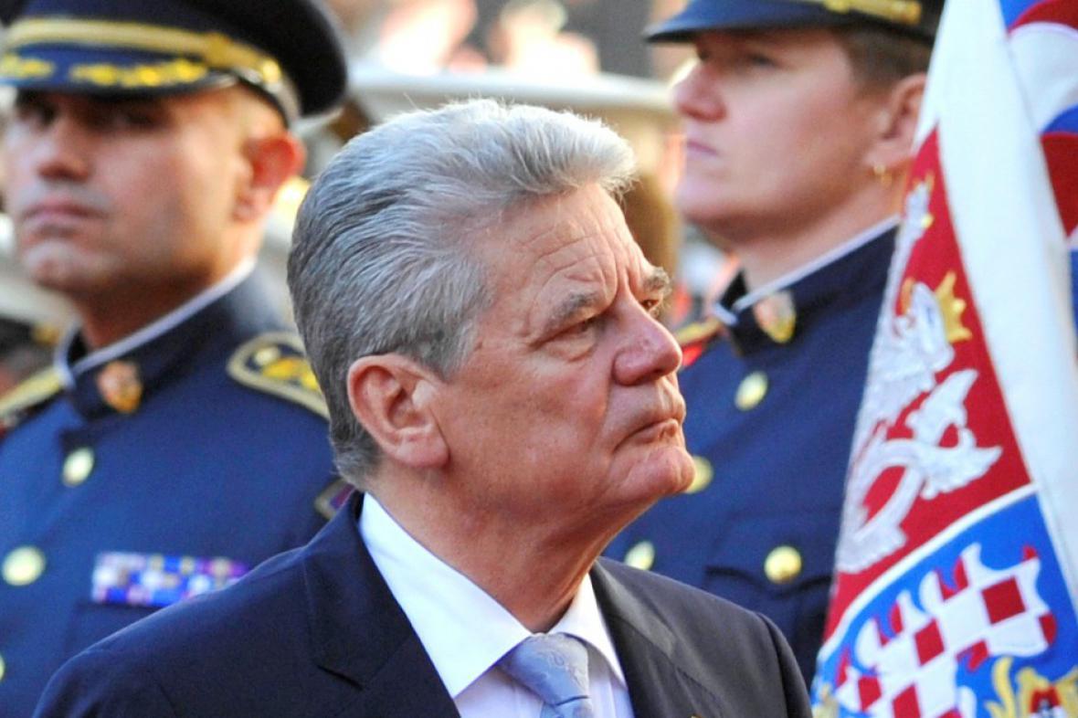 Joachim Gauck na návštěvě ČR