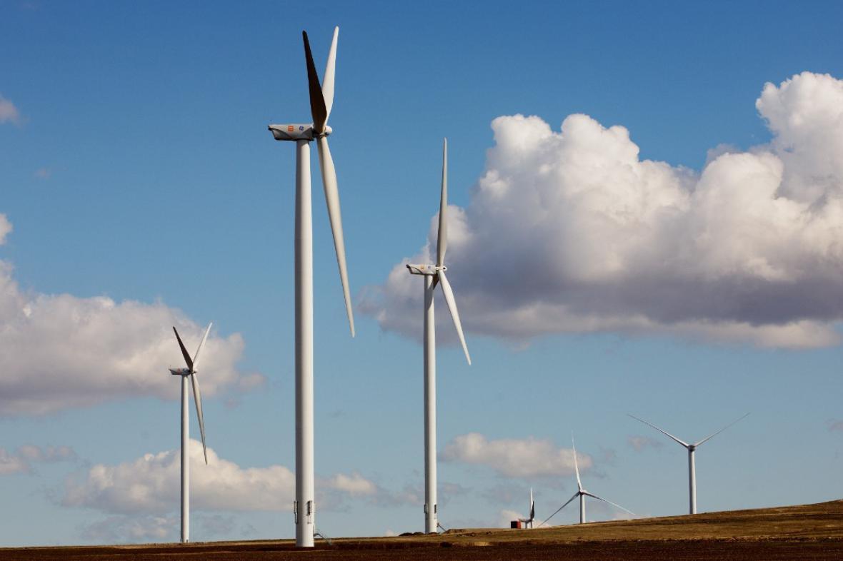 Větrný park Fontanele - Cogealac