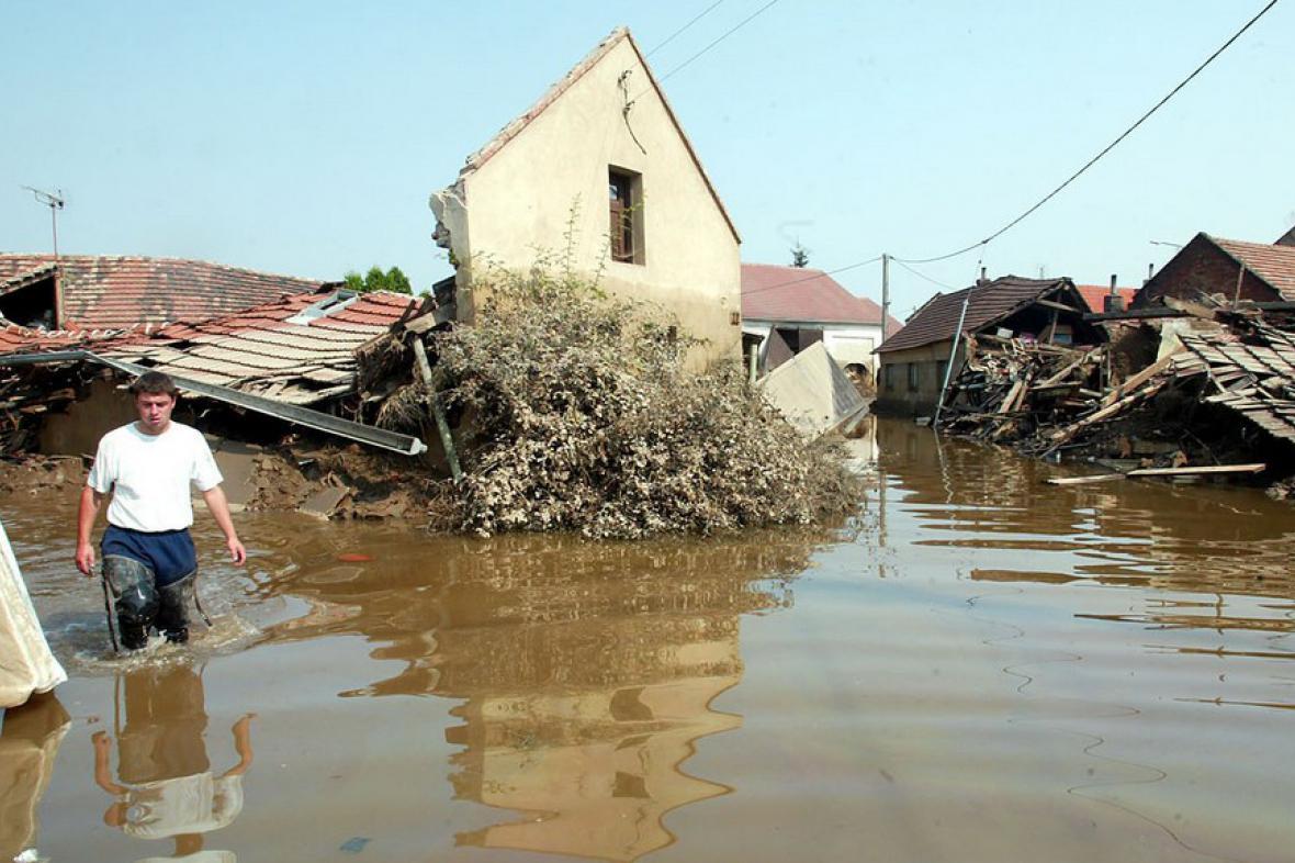 Záplavy v Záleznicích