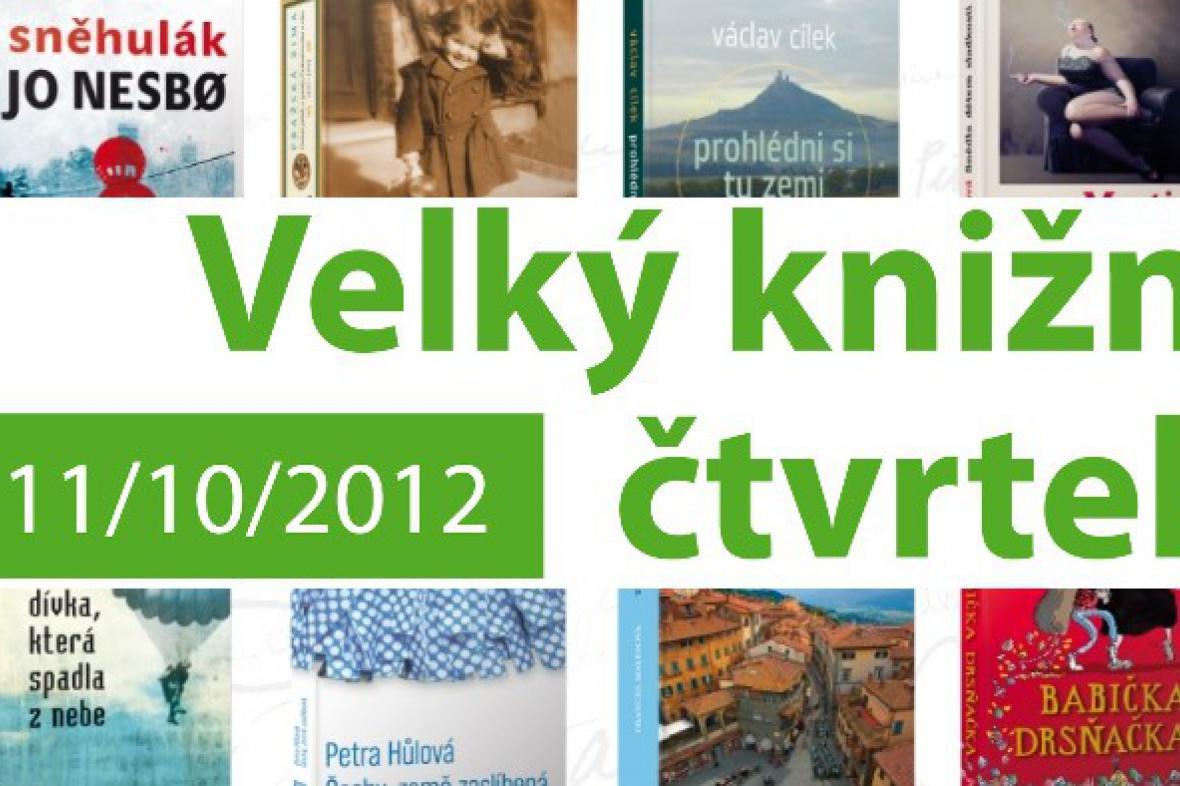 Velký knižní čtvrtek 2012