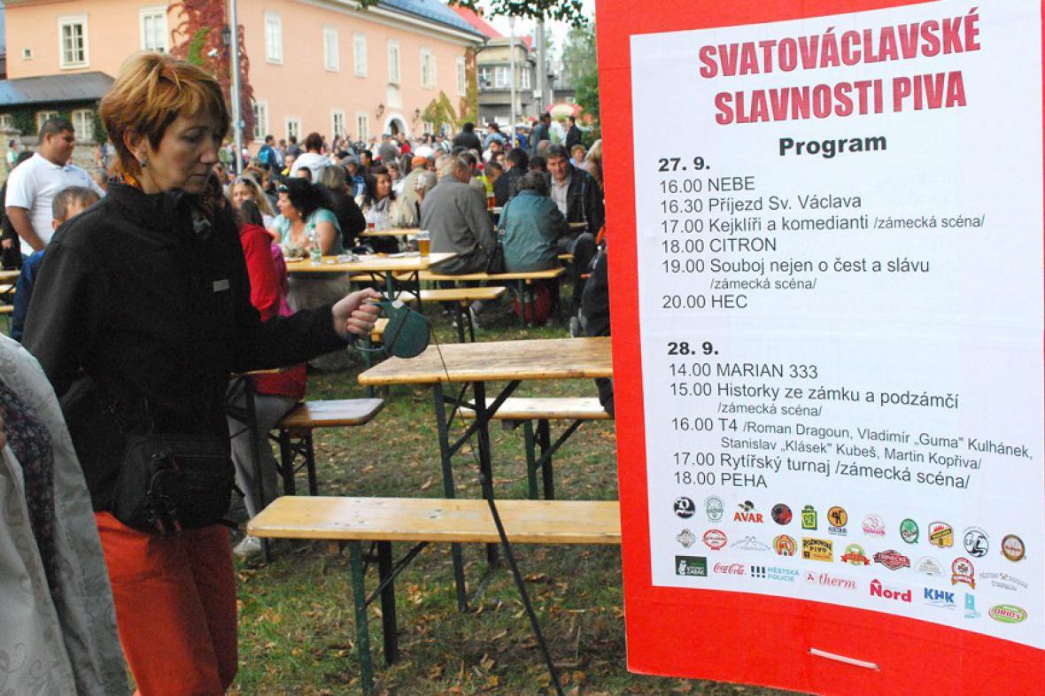 Svatováclavské slavnosti piva