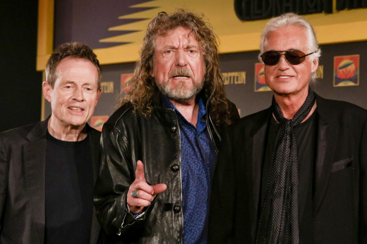 John Paul Jones, Robert Plant a Jimmy Page
