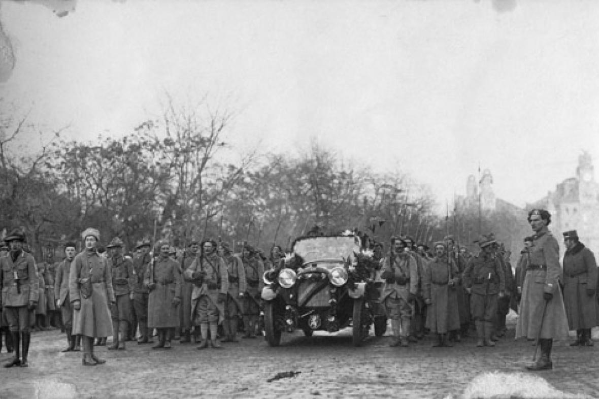 Návrat T. G. Masaryka do vlasti (1918)