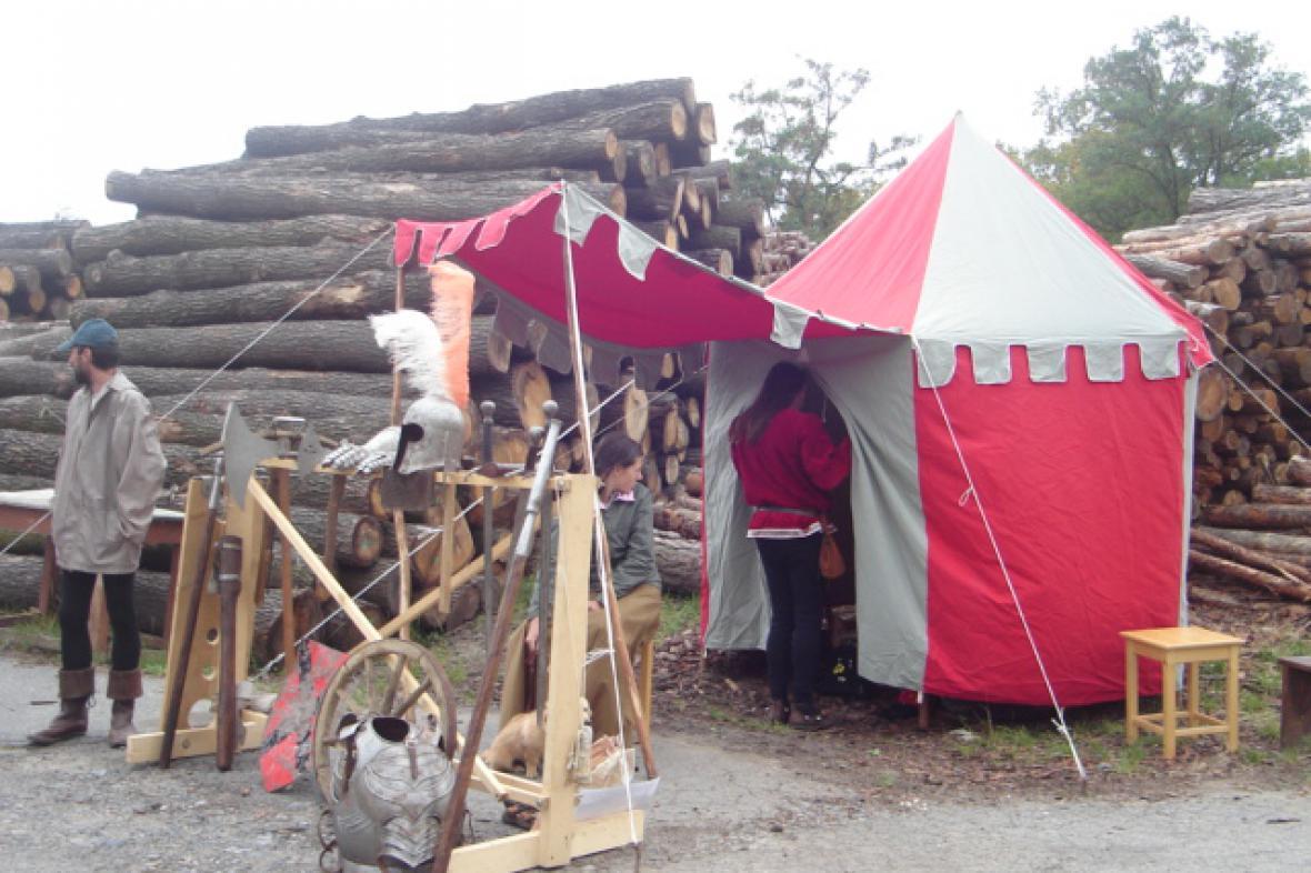 Středověký den na hradě Lichnice