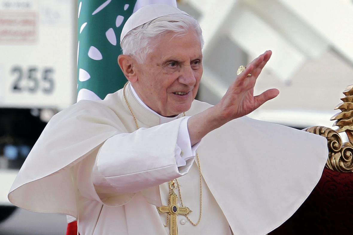 Benedikt XVI. v Libanonu