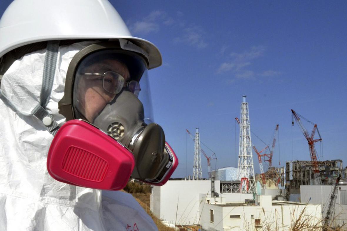 Evakuace poblíž Fukušimy