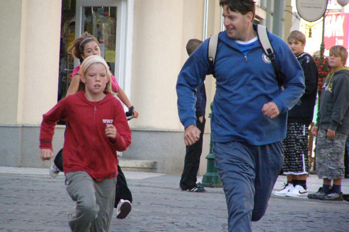 Běh naděje v Lounech