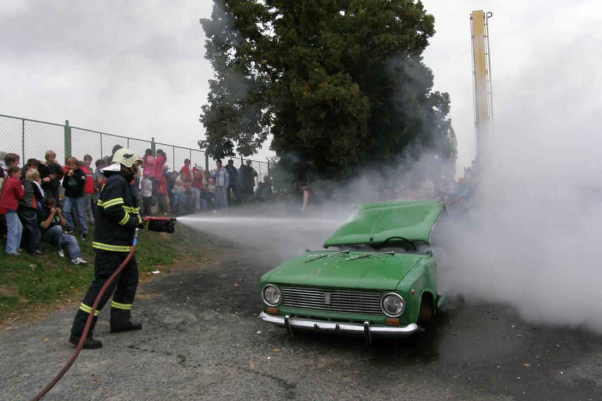 Den hasičů - Trhový Štěpánov