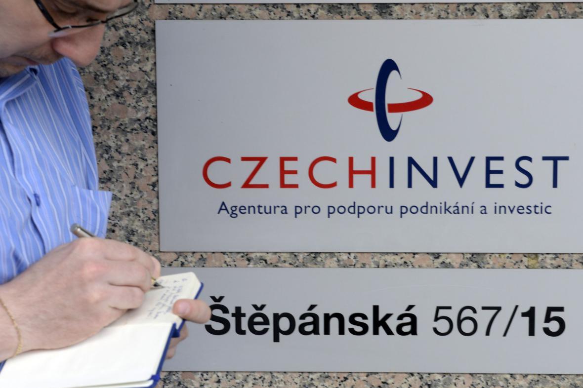 Policejní razie v CzechInvestu
