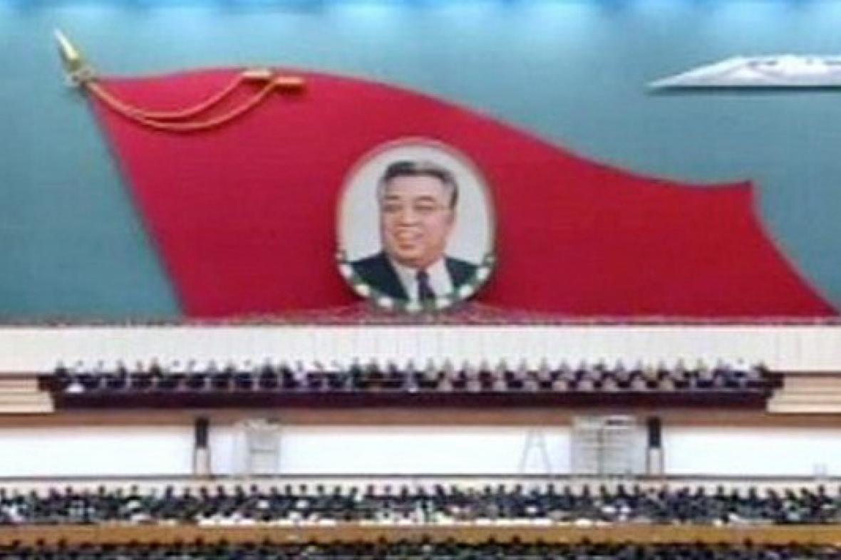 Obraz Kim Ir-sena