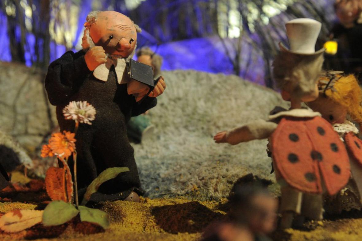Trnkovo dioráma Svatba u Broučků