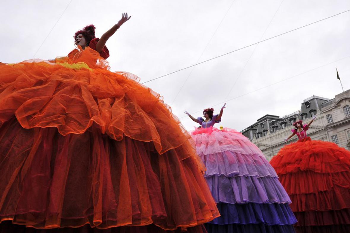 Cirkus na Piccadilly Circus