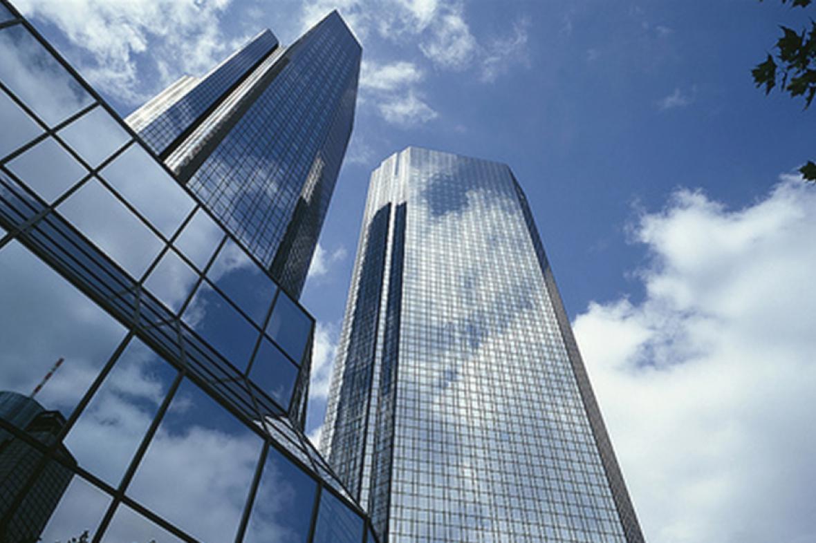 Sídlo Deutsche Bank ve Frankfurtu