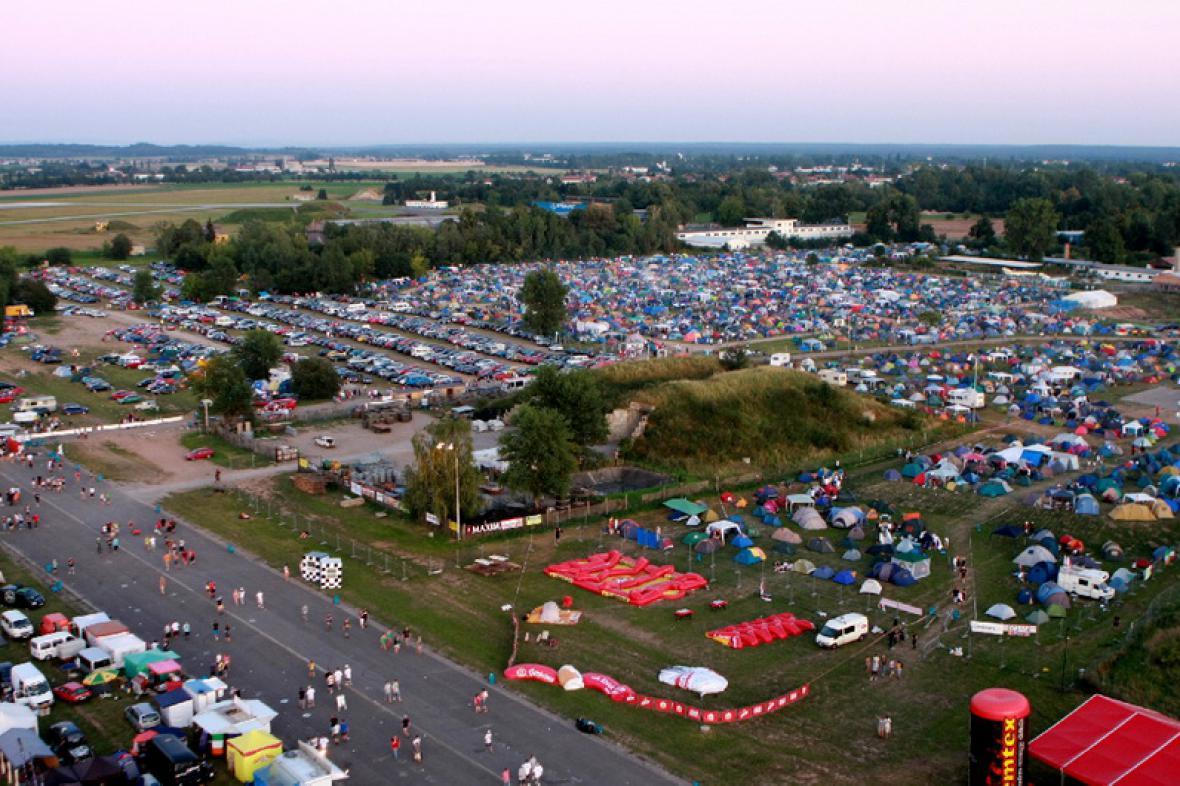 Festivalpark v Hradci Králové