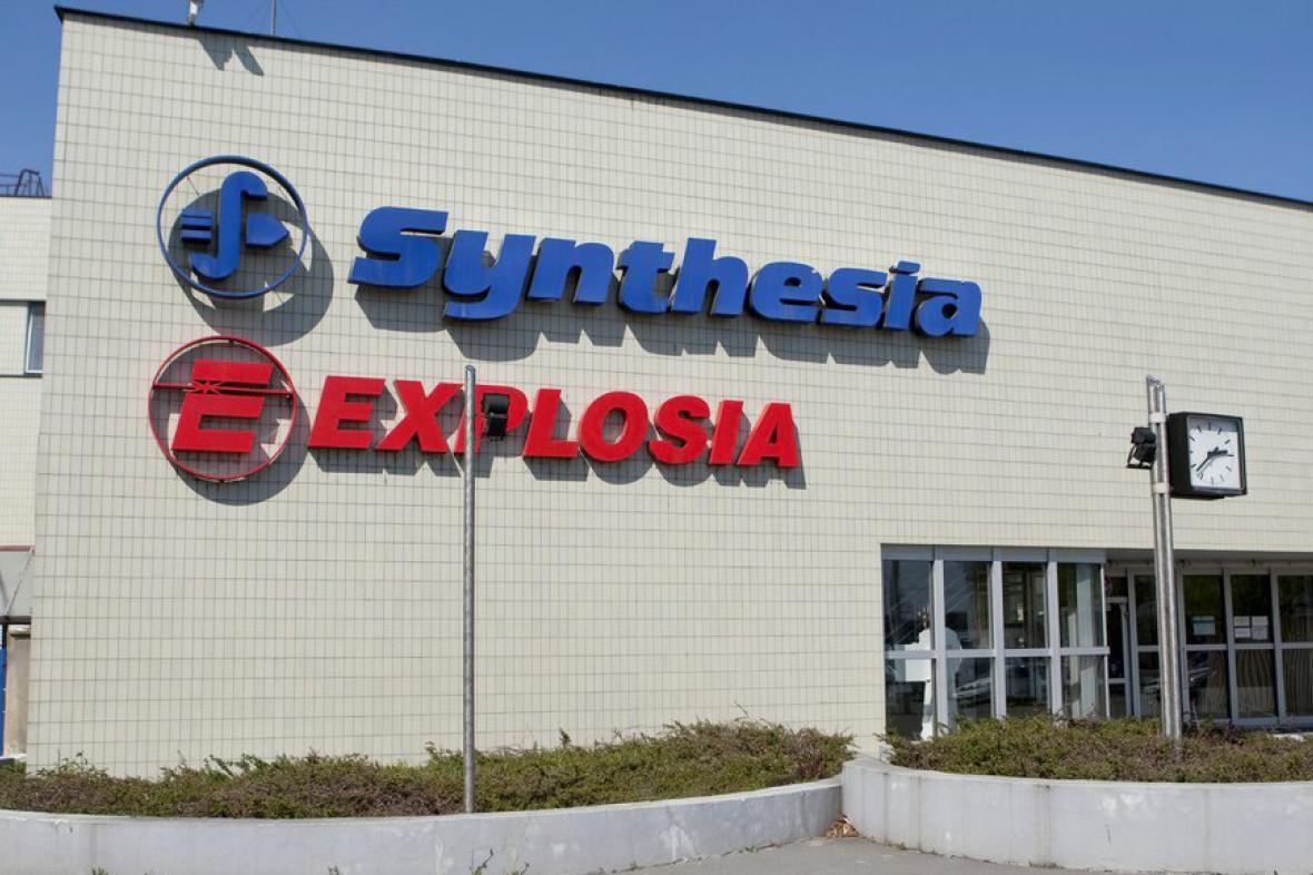 Továrna Explosia