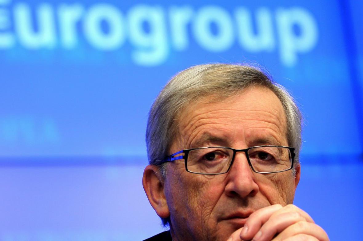 Šéf eurozóny Jean-Claude Juncker