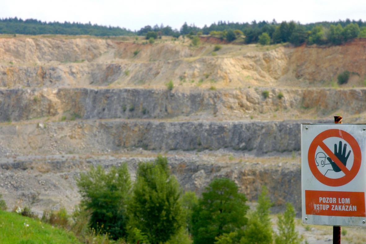 Těžba kamene