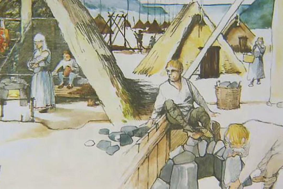 Slovanská vesnice