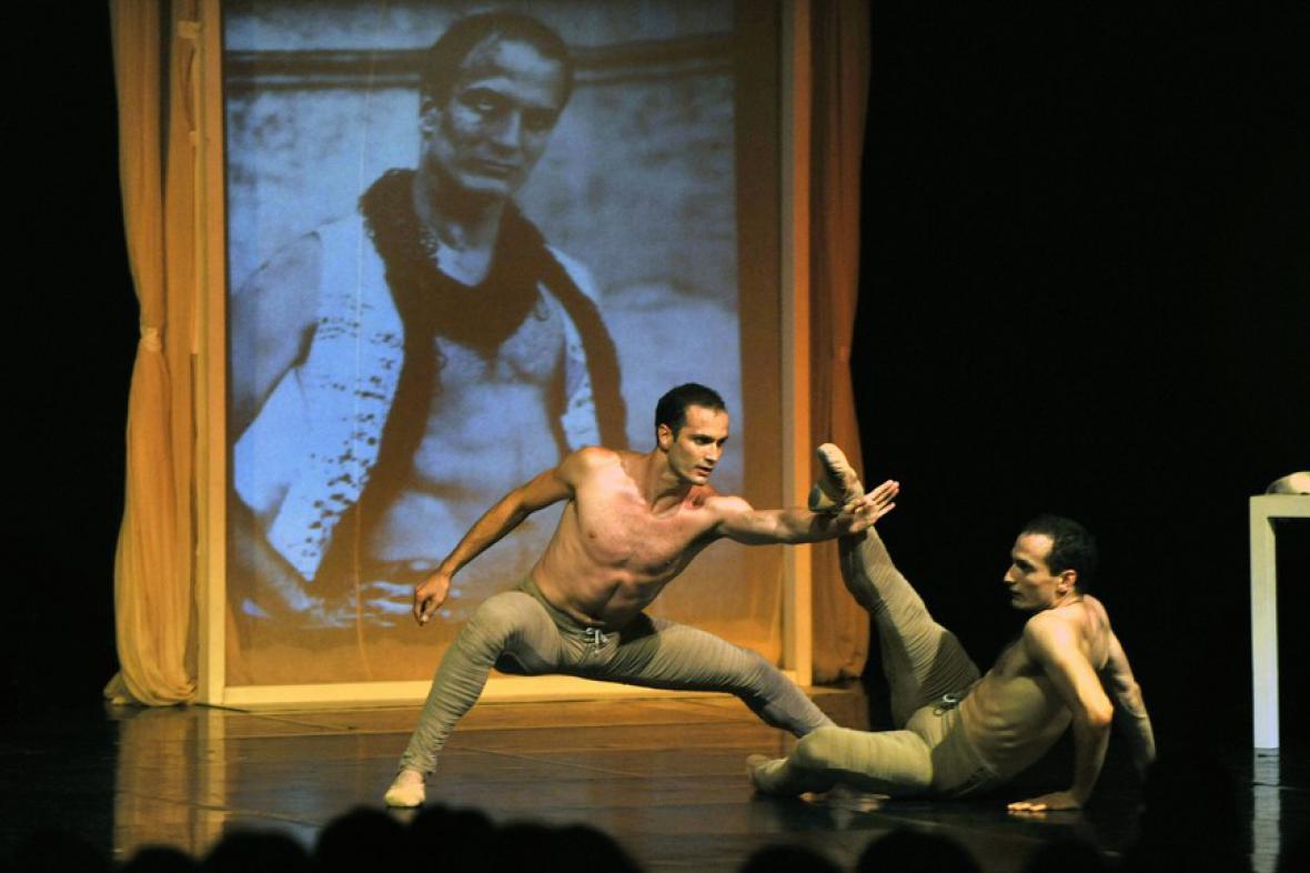 Bubeníček Ballet World při vystoupení na Šternberku