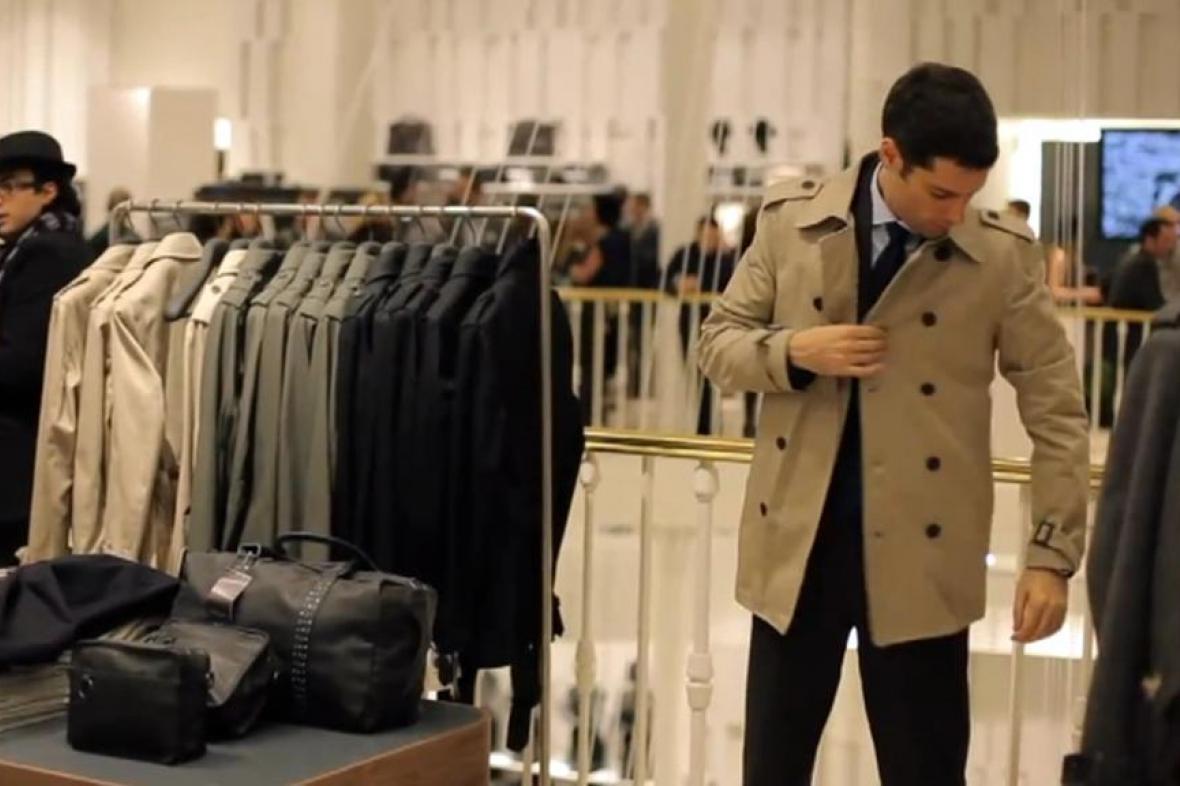 Nakupování oděvů