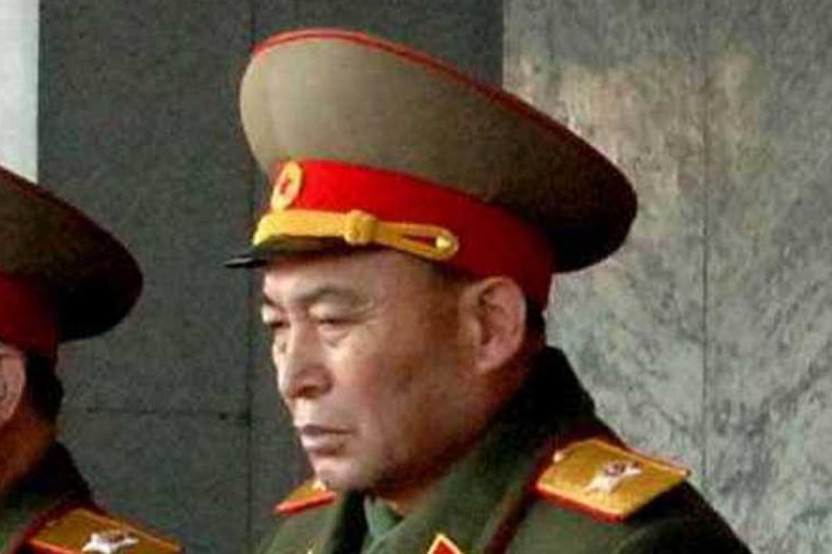 Nejvyšší generál severokorejské armády Ri Jong-ho