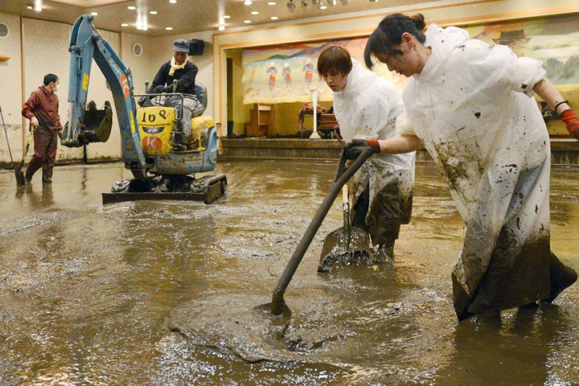 Záplavy v Japonsku