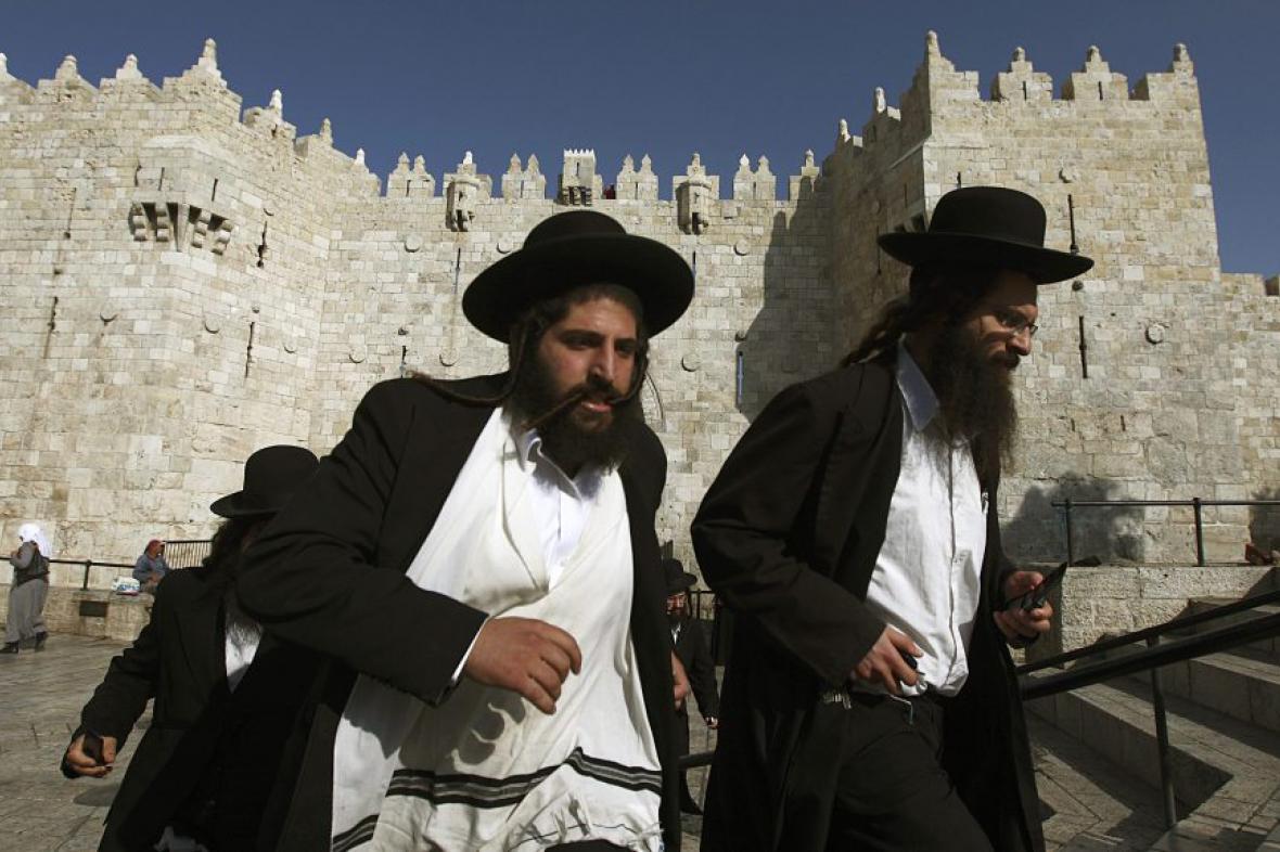 Mladí ortodoxní židé