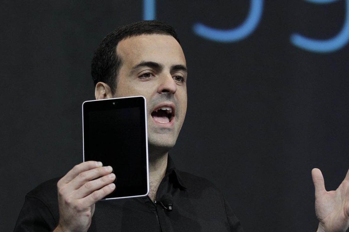 Produktový ředitel Googlu Hugo Barra představil nový tablet