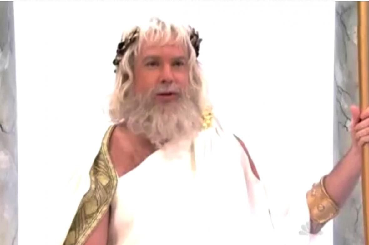 Zeus hledá boha financí