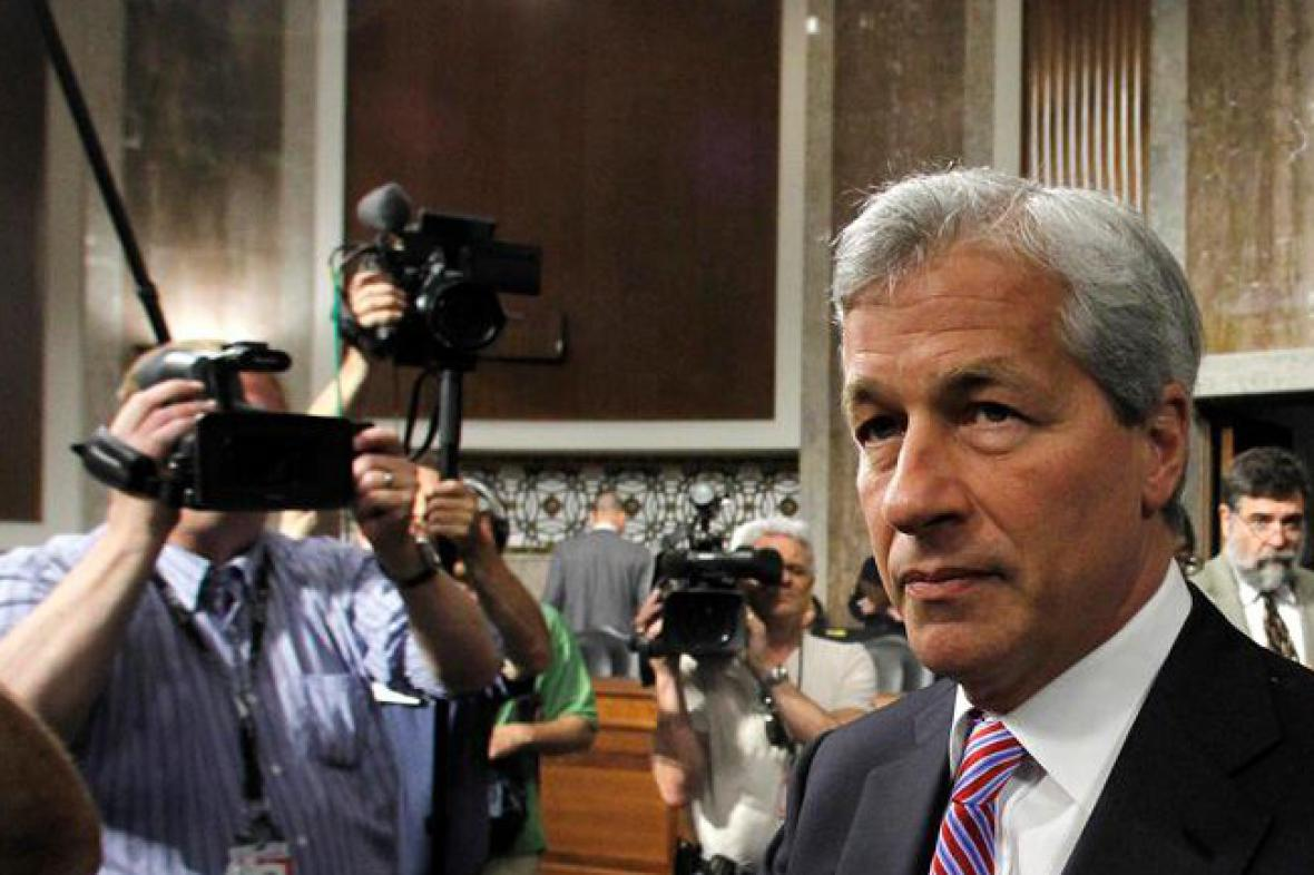Šéf JPMorgan Chase & Co Jamie Dimon