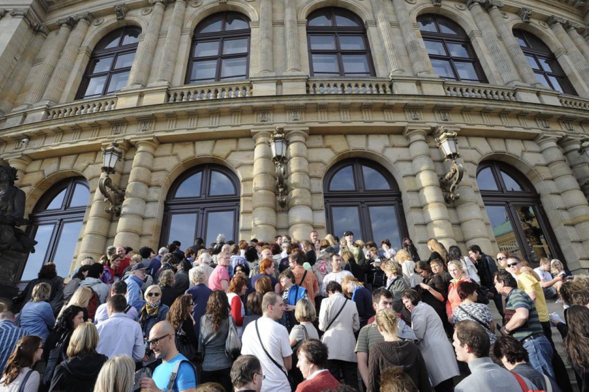 Pražská muzejní noc 2012