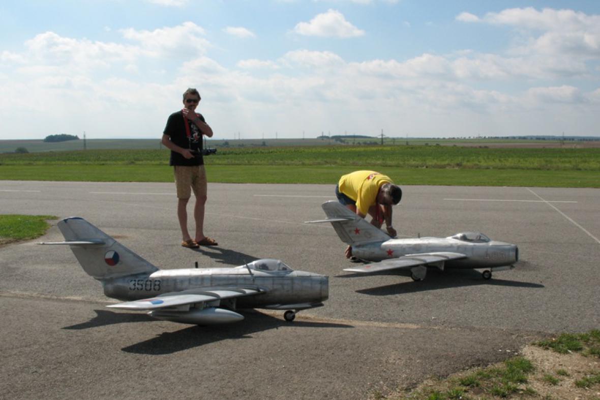 Modely vojenských letadel