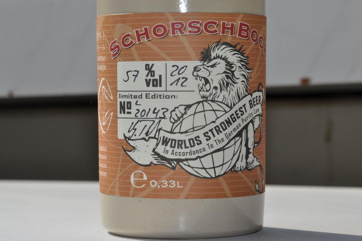 Nejsilnější pivo Schorschbock