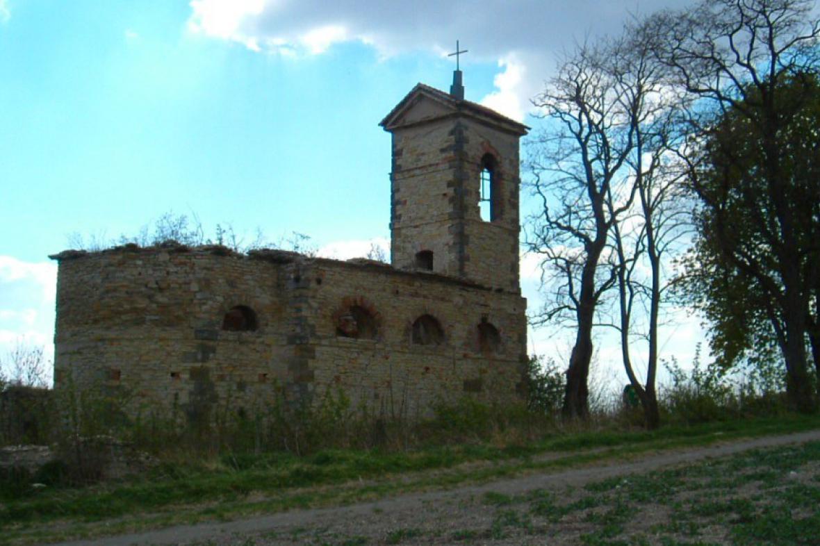 Zřícenina kostela Prachová