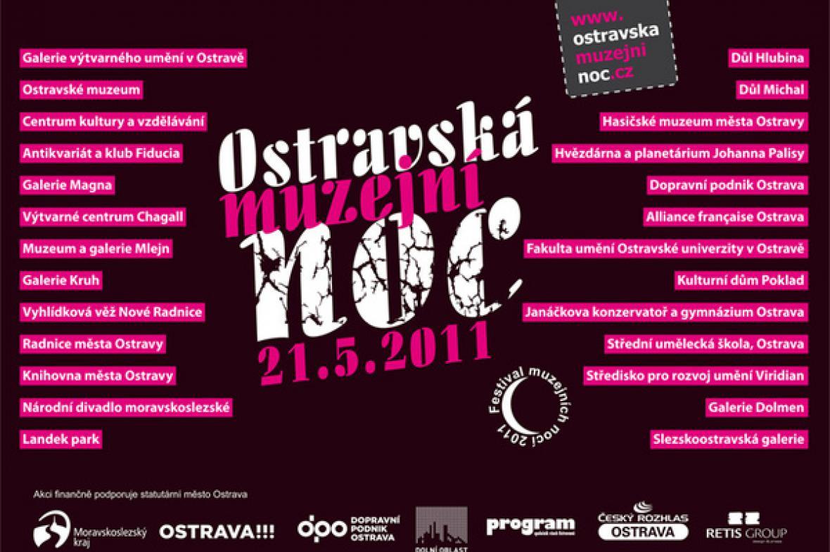 Ostravská muzejní noc 2011