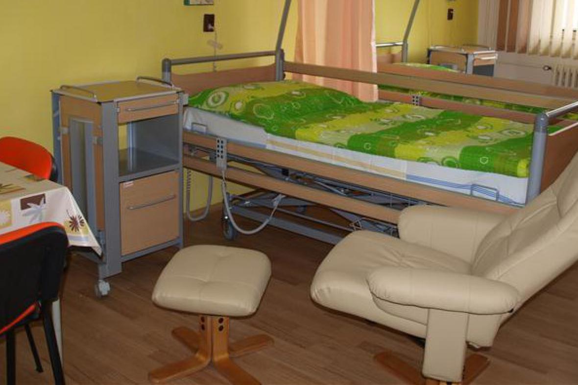 Stanice paliativní péče v jihlavské nemocnici