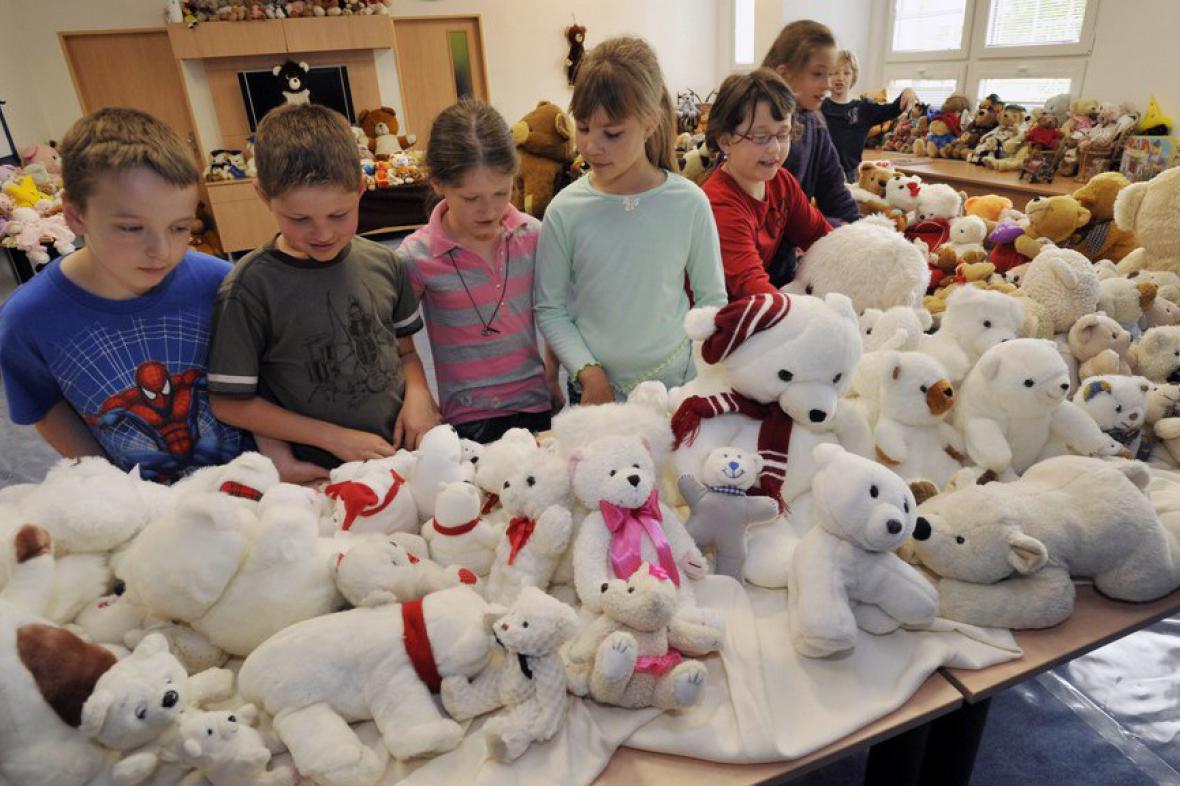 Výstava plyšových medvídků