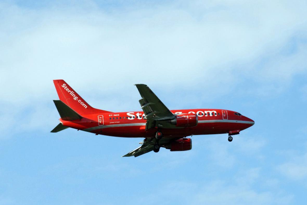 Letadlo společnosti Cimber Sterling