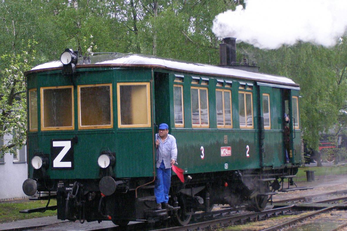 Parní vlak Komárek
