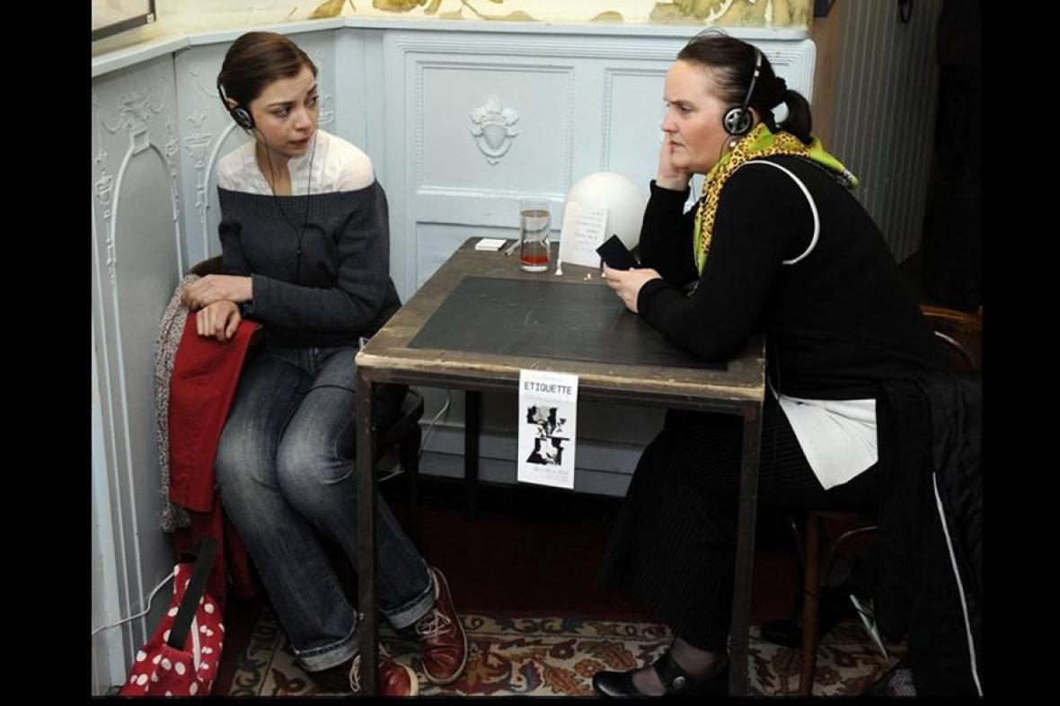 Evelyne Koubková a Dana Benešová-Trčková